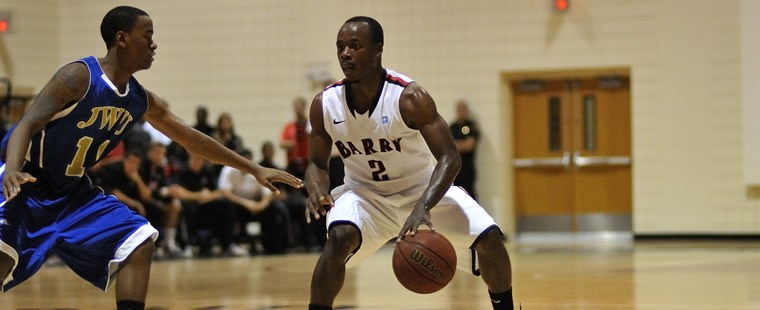 Barry Men's Basketball Upsets Lynn