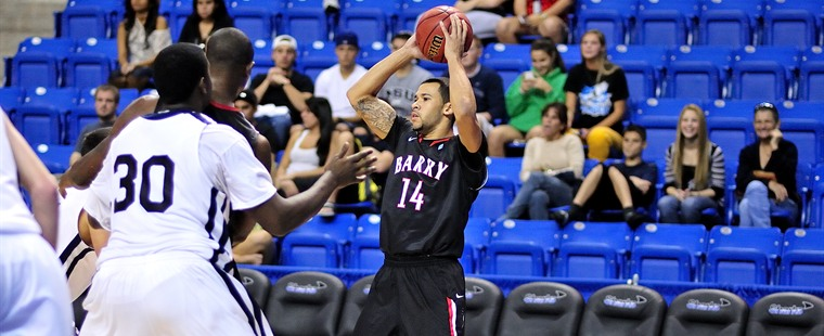 Barry Men's Hoops Stumbles at Saint Leo
