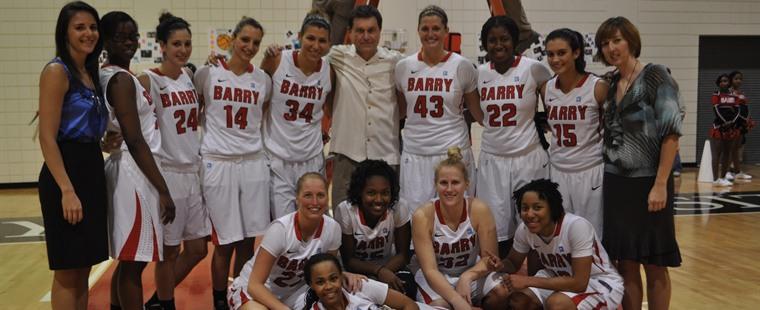Bucs Claim Share of SSC Women's Basketball Title