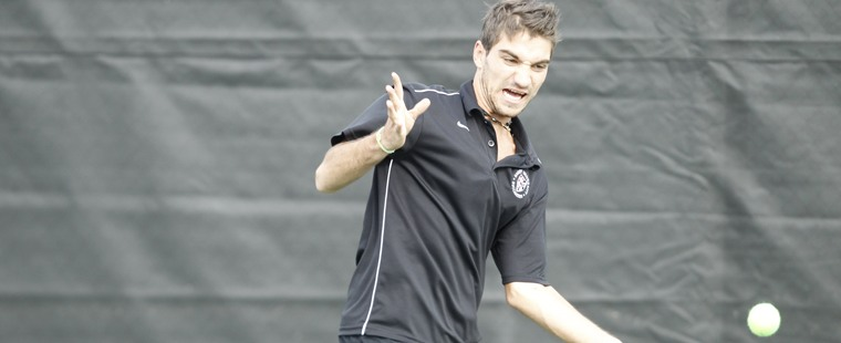 No. 2 Men's Tennis Gets Past No. 14 Georgia College