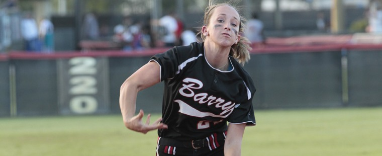 Softball Splits Twinbill With Top-Ranked Chargers