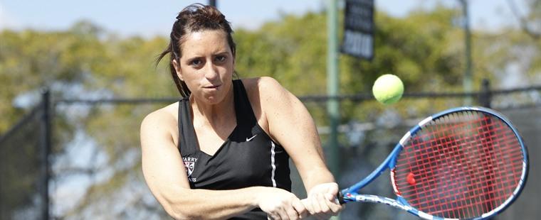 No. 2 Buccaneer Women's Tennis Slide by No. 5 Sea Warriors