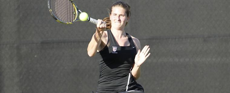 Women's Tennis Battles Through A 7-2 Win Over The Vulcans