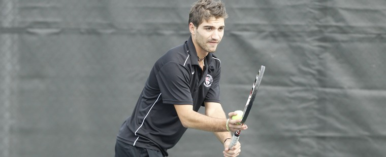 Men's Tennis Suffers First Home Loss