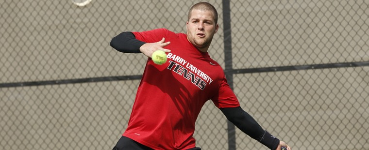 Men's Tennis Survives Challenge From Tigers