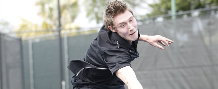 Men's Tennis Tames Tigers