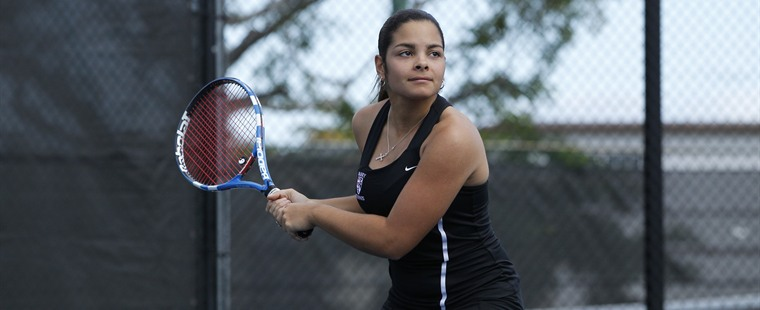 Women's Tennis Sweeps Tigers