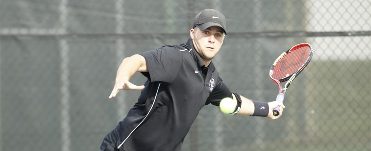 Men's Tennis Drops Tight One to No. 6 Rollins