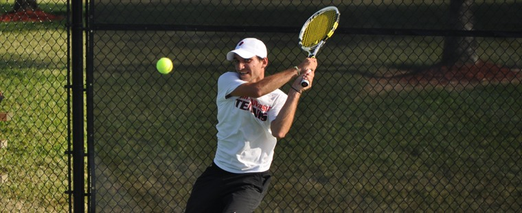 Bucs Zip by Panthers in Men's Tennis SSC Championships