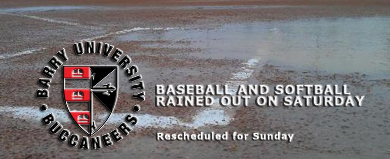 Baseball And Softball Rained Out On Saturday