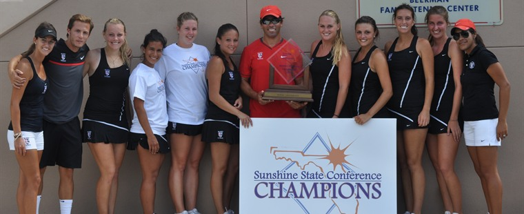 Barry Claims 3rd Straight Women's Tennis SSC Title