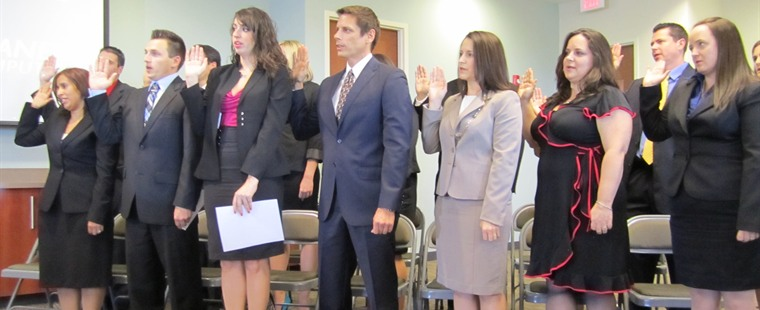 Graduates Sworn In to Florida Bar; School Pass Rate Above State Average