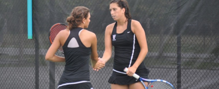 Women's Tennis Moves to Region Title with Forfeit Win