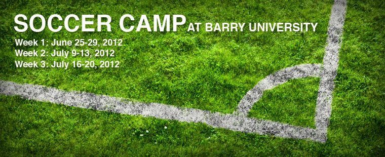 Summer Soccer Camp At Barry