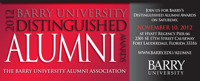 Seeking nominations for 2012 Distinguished Alumni Award Recipients