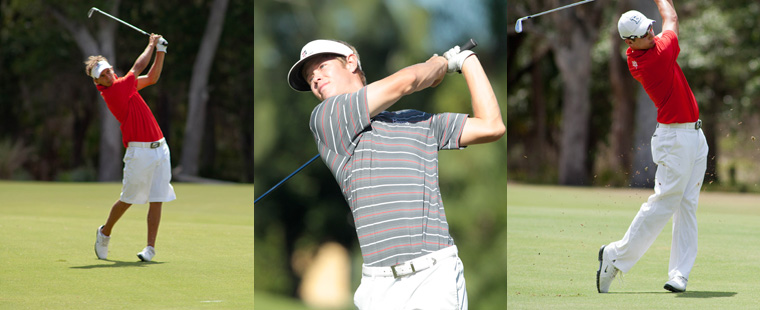 Bucs Men's Golf Trio All-Region Picks