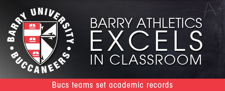 Barry Athletics Excels in Classroom