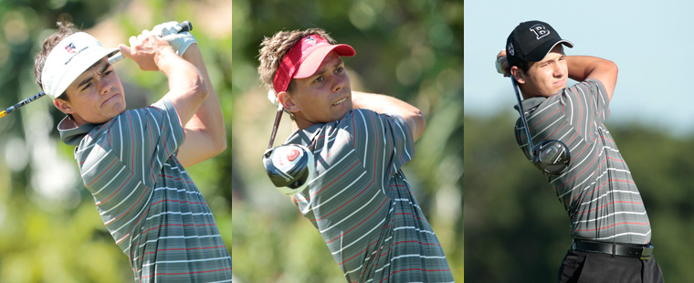 Men's Golf Sinks All-American Trifecta