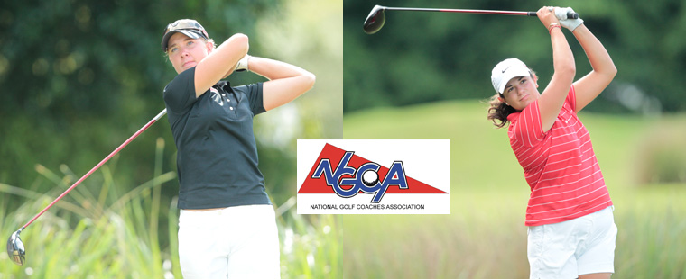 Women's Golf Pair Named NGCA Scholar All-Americans