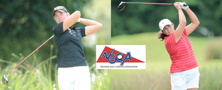 Women's Golf Pair Named NGCA Scholar All-Americans