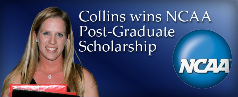 Collins Wins NCAA Post-Graduate Scholarship