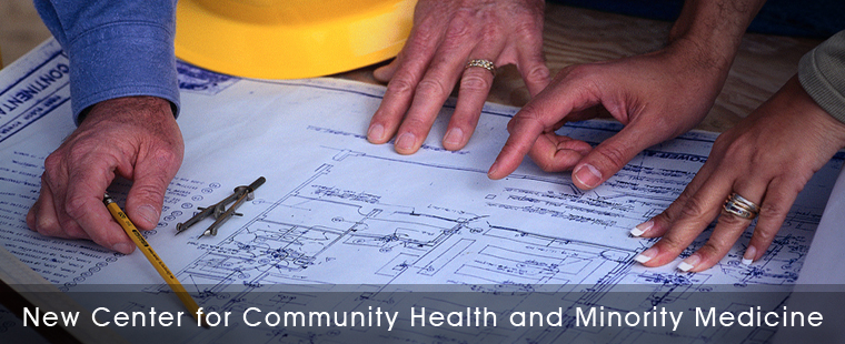 Ground Breaking Launches New Center for Community Health and Minority Medicine