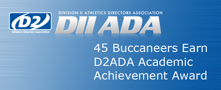 45 Buccaneers Earn D2ADA Academic Achievement Award