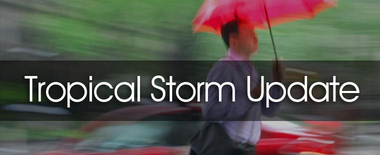Tropical Storm Isaac - Update No. 1