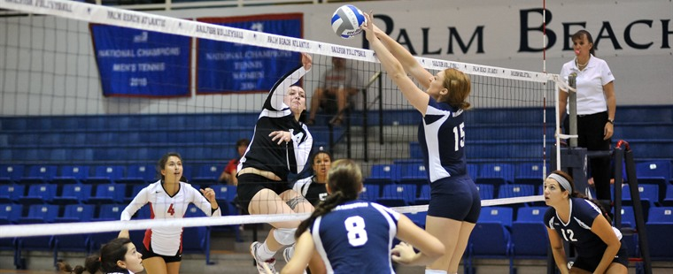Volleyball Drops Pair to Open Season