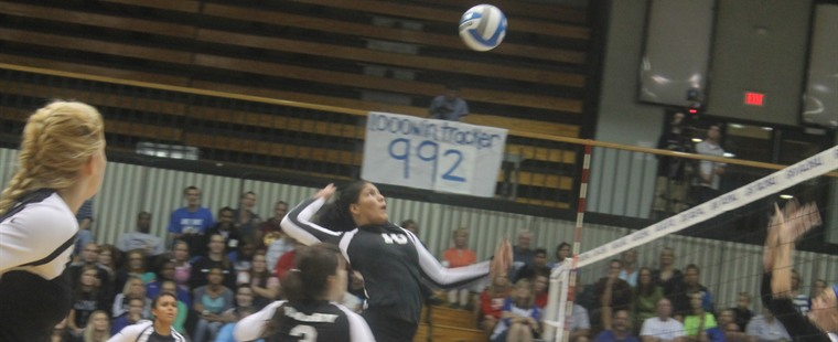Learning Curve Continues for Volleyball