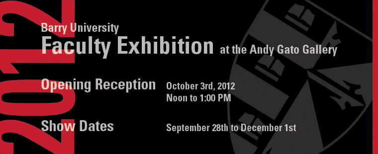 Fine Art Faculty Exhibition