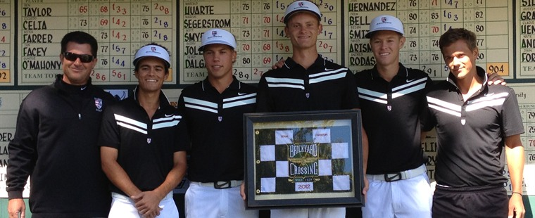 Berry Good Barry: Jole Keys Men's Golf Win in Indy