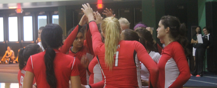 Volleyball Opens SSC Play with Win