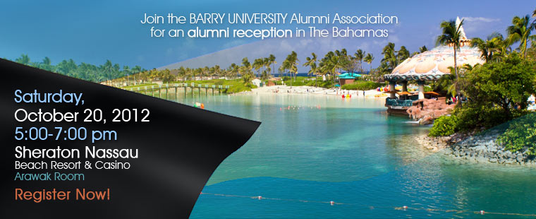 Barry Alumni Reception in The Bahamas