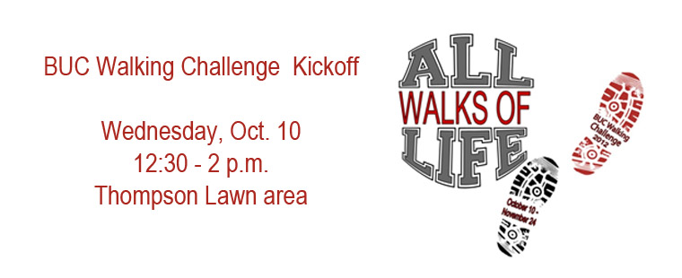 BUC Walking Challenge Kickoff