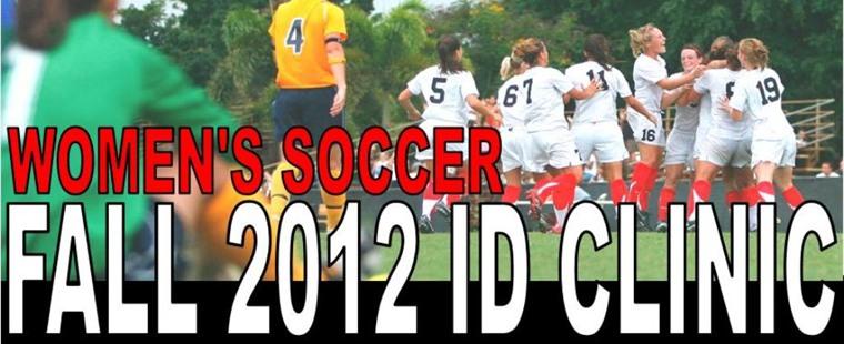 Women's Soccer Fall 2012 ID Clinic