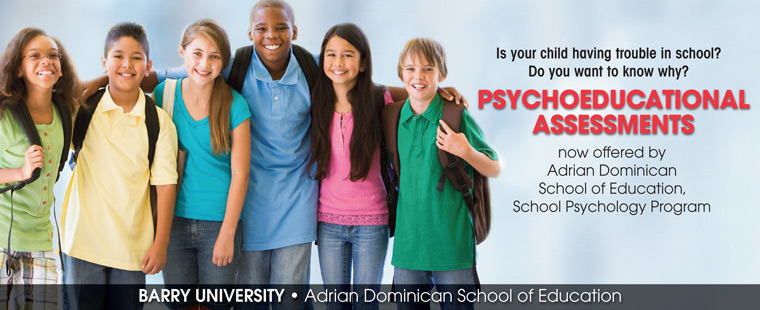 Psychoeducational evaluations now available through ADSOE