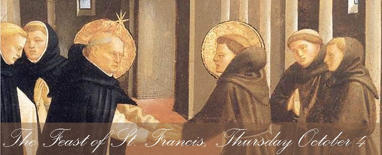 Mass for the Feast of St. Francis of Assisi