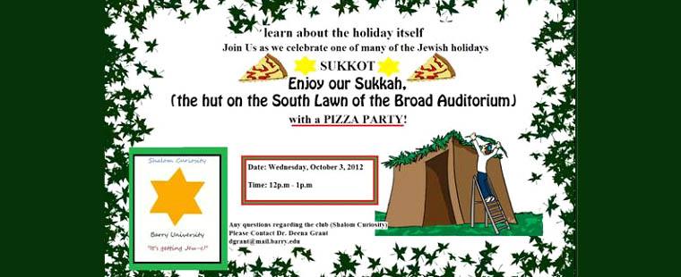 Sukkot Jewish Holiday