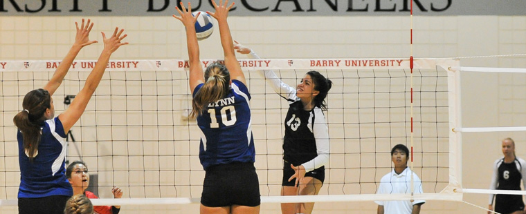Rally Time: Bucs Volleyball Upends Nova SE