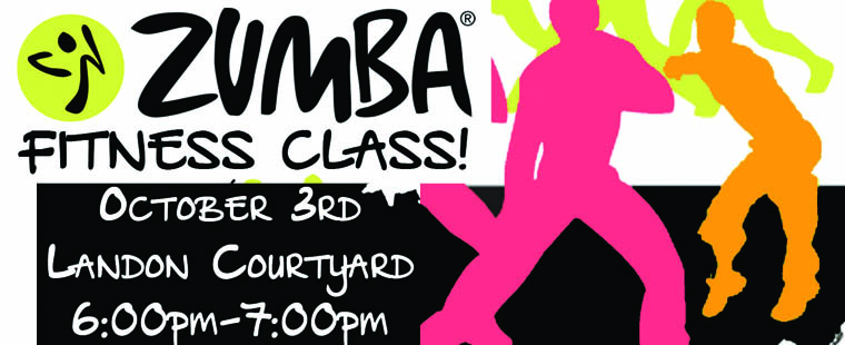 FREE ZUMBA at Landon Courtyard