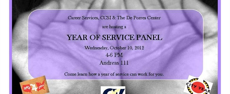 Year of Service Panel