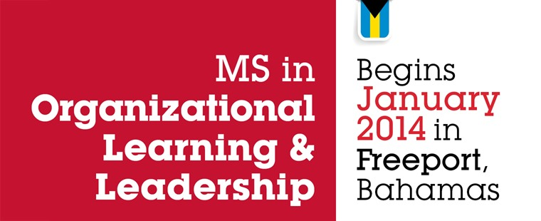 MS in Organizational Learning and Leadership