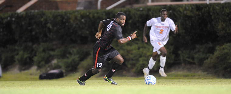 Men's Soccer Edged At Home By Lions