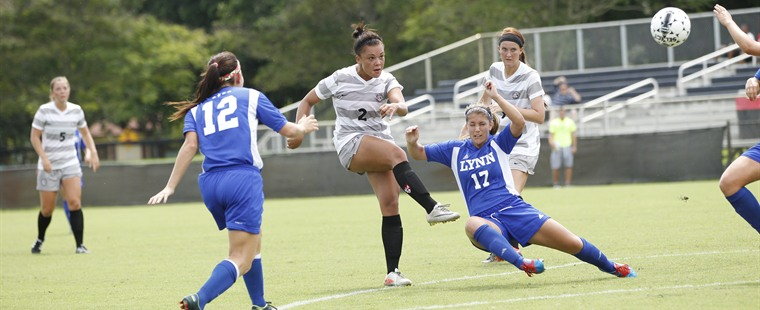 Karp Leads The Way In Women's Soccer Win Over Lions