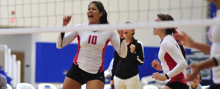 Volleyball Heads to No. 5 Tampa, Eckerd