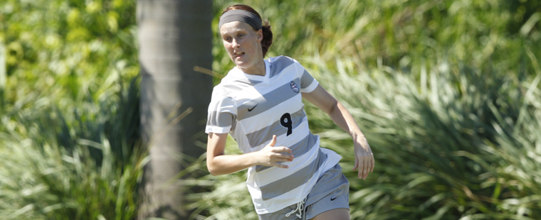 Women's Soccer Ties Sharks