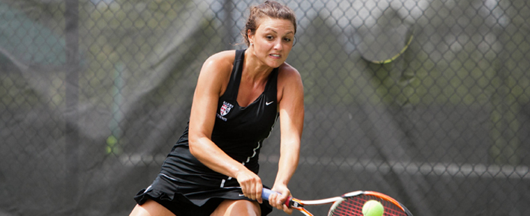 Women's Tennis' Mansour Takes 3rd at Miami Invite