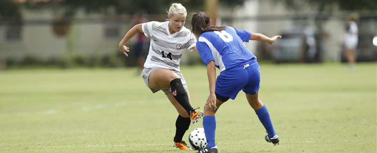 Late Goal Lifts Women's Soccer Over Mocs