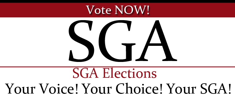 SGA Elections - Vote Now!